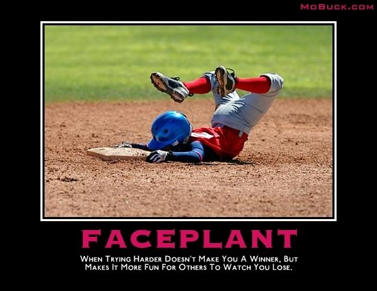 faceplant