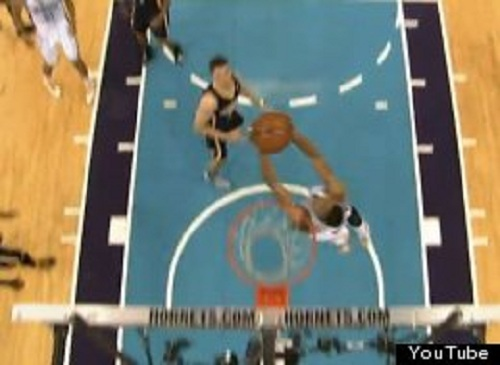 anthony davis reverse alley oop