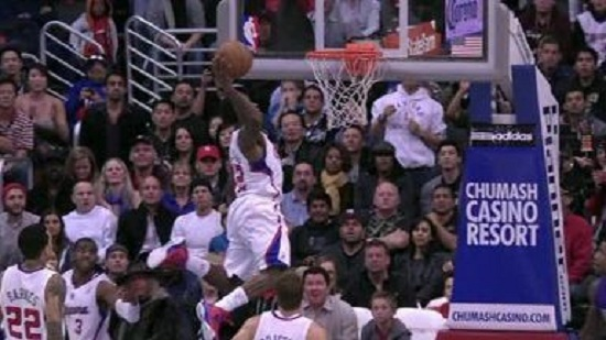 Eric Bledsoe with the dunk of the night vs. the Kings. Photo: ESPN