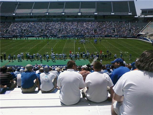 Will Commonwealth Stadium have more in attendance this season for the Spring Game?