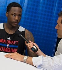 archie goodwin nba draft combine